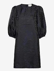 Second Female - This dress is made in an elegant polyester  jacquard quality - cocktailklänningar - black - 0