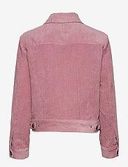 Second Female - Boyas Jeans Jacket - jeansjackor - lilas - 2