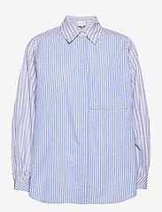 Second Female - Evelin Shirt - långärmade skjortor - brunnera blue - 0