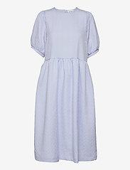 Leah Dress - BRUNNERA BLUE