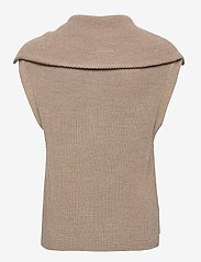 Second Female - Nola Knit Vest - stickade västar - humus - 2