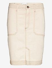 Second Female - Terry Skirt - jeanskjolar - white swan - 1