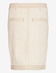 Second Female - Terry Skirt - jeanskjolar - white swan - 2