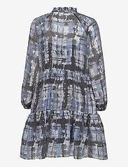 Second Female - Imprint Dress - vardagsklänningar - blue shadow - 2