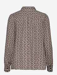 Second Female - Frank Shirt - långärmade skjortor - black - 2