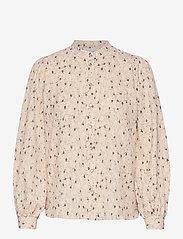 Second Female - Sketch Shirt - långärmade blusar - brazilian sand - 0