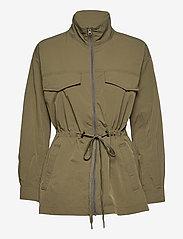 Second Female - Season New Jacket - parkasjackor - olive night - 1