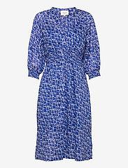 Second Female - Dayly Dress - sommarklänningar - deep ultramarine - 1
