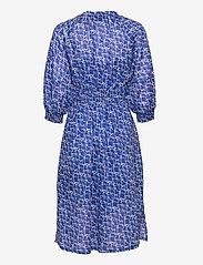 Second Female - Dayly Dress - sommarklänningar - deep ultramarine - 3