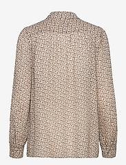 Second Female - Lacing Shirt - långärmade skjortor - cement - 2