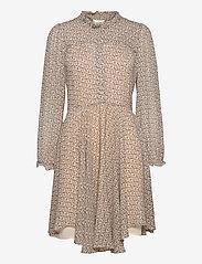 Second Female - Lacing Dress - vardagsklänningar - cement - 1