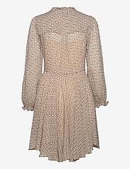 Second Female - Lacing Dress - vardagsklänningar - cement - 2