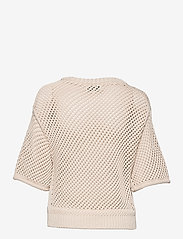 Second Female - Domino Knit - strikkede toppe - natural - 2