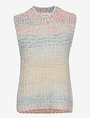 Second Female - Elsa Knit Vest - stickade västar - brunnera blue - 1