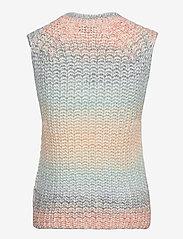 Second Female - Elsa Knit Vest - stickade västar - brunnera blue - 2
