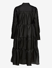Second Female - Rosalina Midi Dress - hverdagskjoler - black - 1