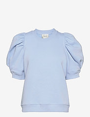 Second Female - Miami Sweat Tee - t-shirts - pale sky blue - 0