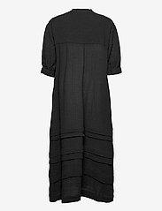 Second Female - Mallorca Midi Dress - sommarklänningar - black - 2