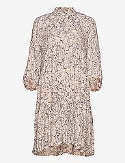 Second Female - Fiji Dress - sommarklänningar - bright white - 1