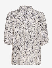 Second Female - Fiji Shirt - kortärmade skjortor - bright white - 2