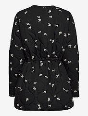 Second Female - California Quilt Jacket - quiltade jackor - black - 2