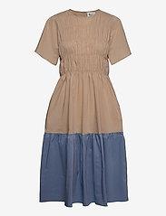 Second Female - Glasgow Dress - vardagsklänningar - beige - 0