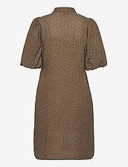 Second Female - Bilbao Mini Dress - sommarklänningar - stone green - 2