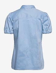 Second Female - Glasgow Shirt - kortärmade skjortor - bel air blue - 2