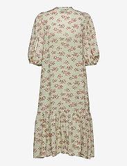Second Female - Pune Shirt Dress - sommarklänningar - dessert sage - 2