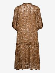 Second Female - Fijito Dress - vardagsklänningar - bronze brown - 1