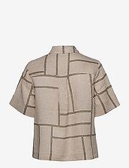 Second Female - Laval Shirt - kortärmade skjortor - parchment - 2