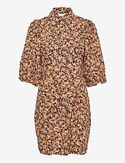 Second Female - Mayda Dress - sommarklänningar - toasted nut - 1
