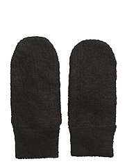 Gitta Knit Mittens - BLACK