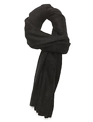 Brook Knit Scarf - BLACK