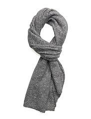 Brook Knit Scarf - GREY MELANGE
