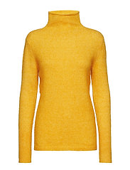 Brook Knit New T-neck - GOLDEN GLOW