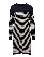 Ofelia Knit Dress - NAVY