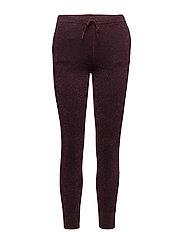 Idal Knit Trousers - PORT ROYALE