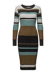 Full Moon Knit Dress - TAPENADE