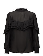Kiwa Blouse - BLACK