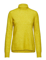 Brook Knit Rib New T-neck - ANTIQUE MOSS