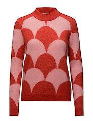 Margaret Knit O-neck - Lava
