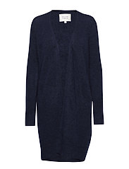Brook Knit Pocket Cape - NAVY BLAZER
