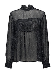 Ava Blouse - BLACK