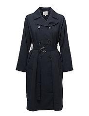 Valdi Coat - Navy