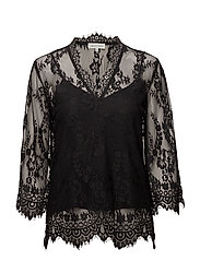 Babette Lace Top - Black