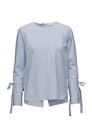 Ressie Blouse - SHIRT BLUE