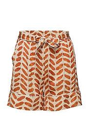 Stroke Shorts - ORANGE RUST