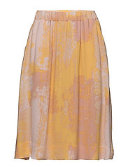 Canvas Skirt - GOLDEN CREAM