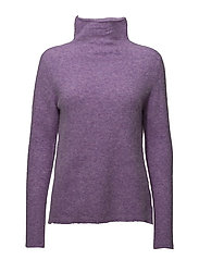 Maldiva Knit T-neck - ENGLISH LAVENDER